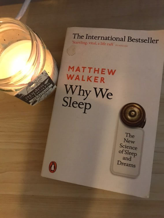 lockdown reading as a graduate | photo shows why we sleep by matthew walker